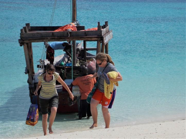 Boat snorkel trip