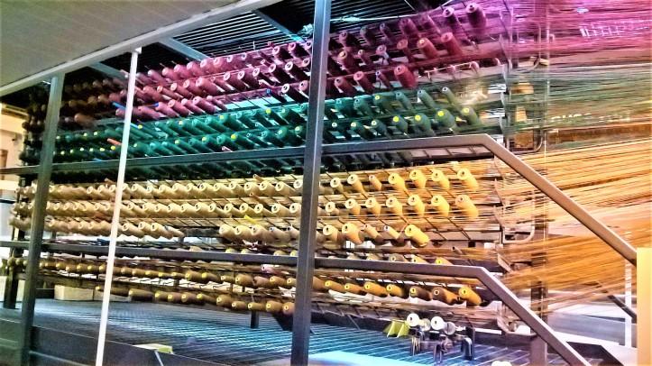 wool museum loom