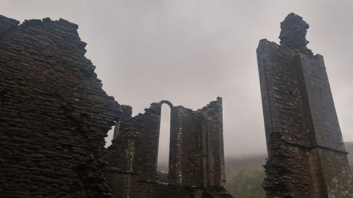 the ruins of llanthony priory
