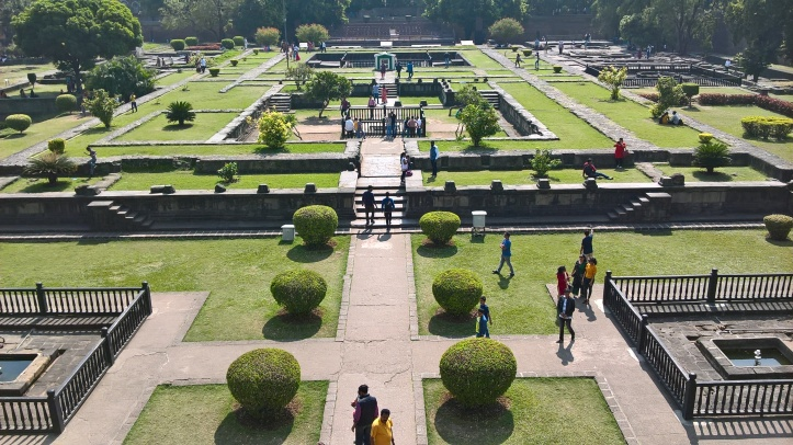 Shaniwar wada grounds