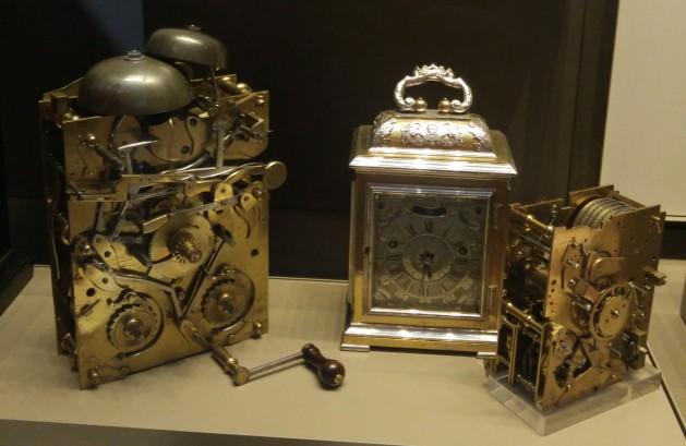 Clockwork in London museum